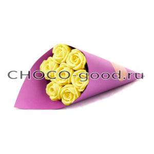 купить букет из шоколадных роз
