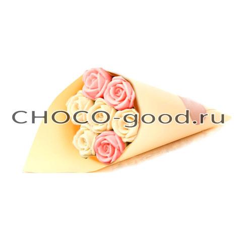 купить букет шоколадных роз