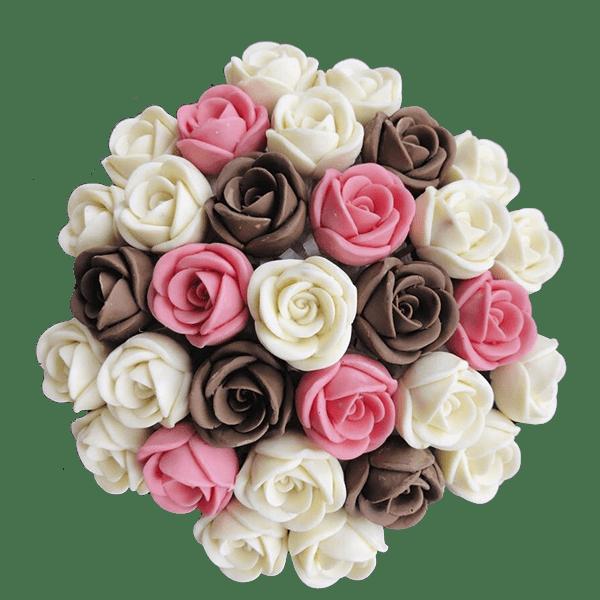 Шоколадный букет ко дню матери