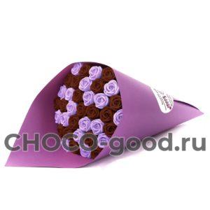 купить букет из тридцати семи шоколадных роз